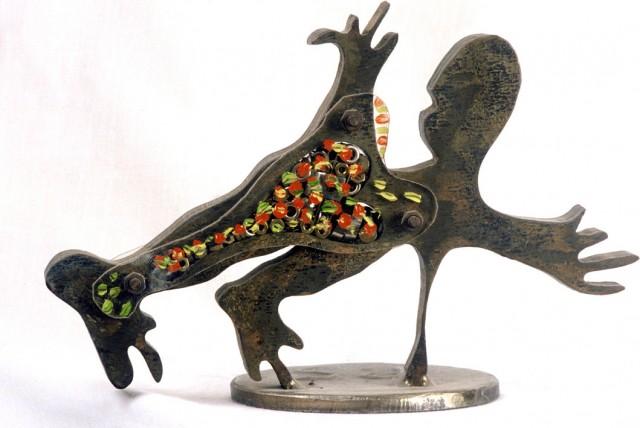 Γεμιστά γλυπτά (1987 – 1989)