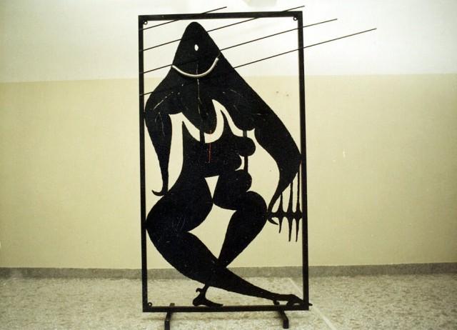 Μαύρα γλυπτά 1985 – 1986, (1977-1986